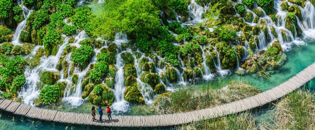 Laghi Plitvice Camminamento